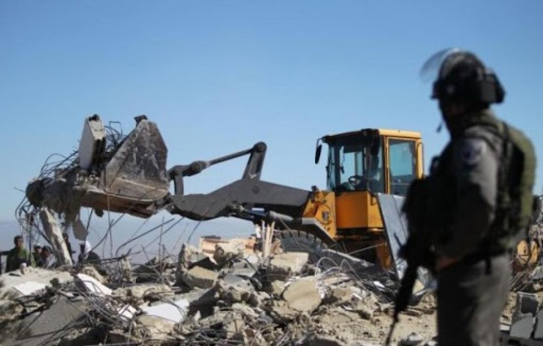 """الأمم المتحدة تطالب بوقف هدم الاحتلال تجمع """"حمصة البقيعة"""" بالضفة المحتلة"""