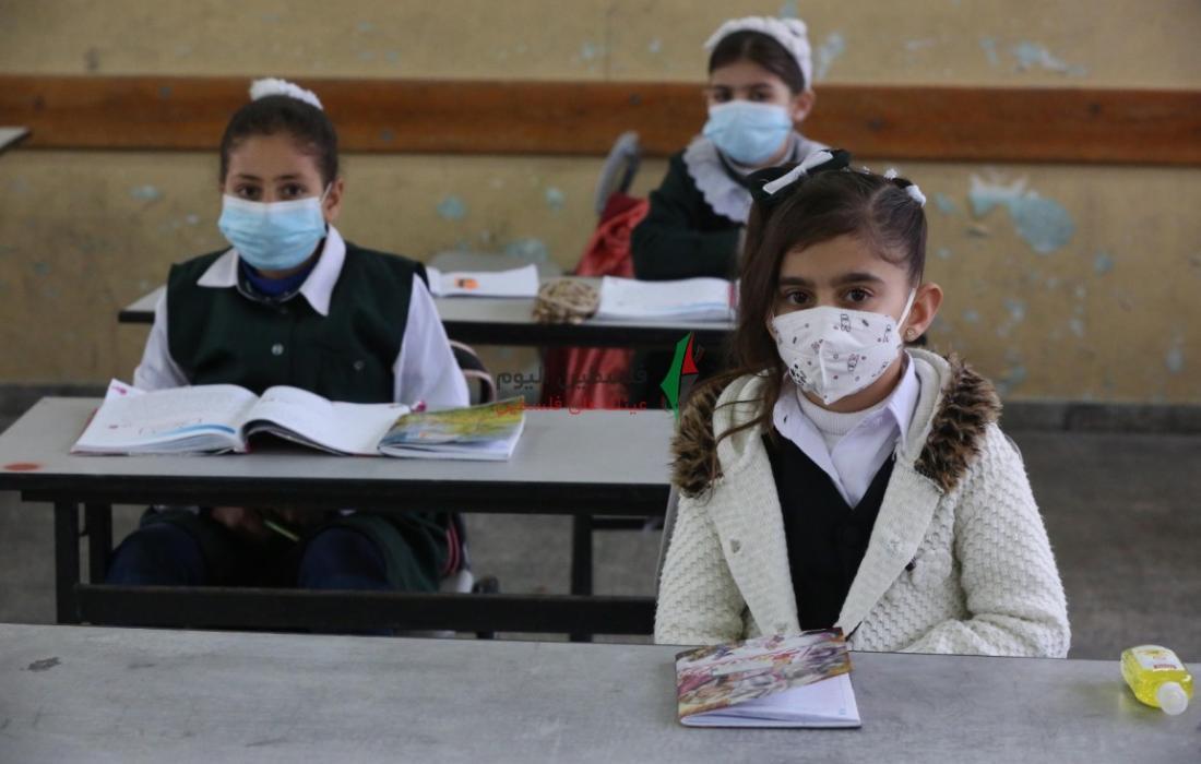طلبة المرحلة الابتدائية في المدارس الحكومية يعودون لمدارسهم (13).jpeg