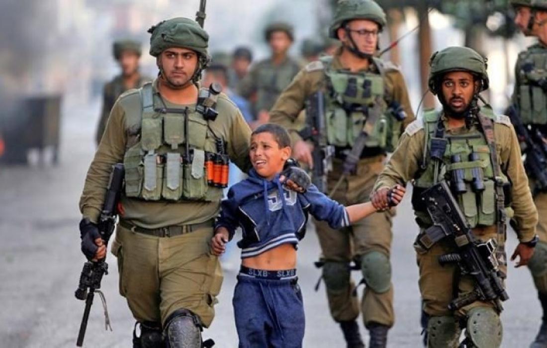 جيش الاحتلال يعتقل طفل