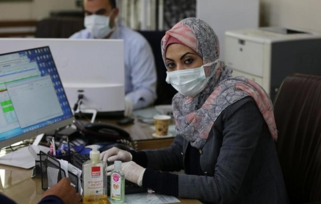 كورونا في غزة.
