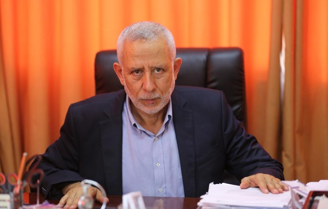 د. محمد الهندي عضو المكتب السياسي ومسؤول الدائرة السياسية في حركة الجهاد الإسلامي