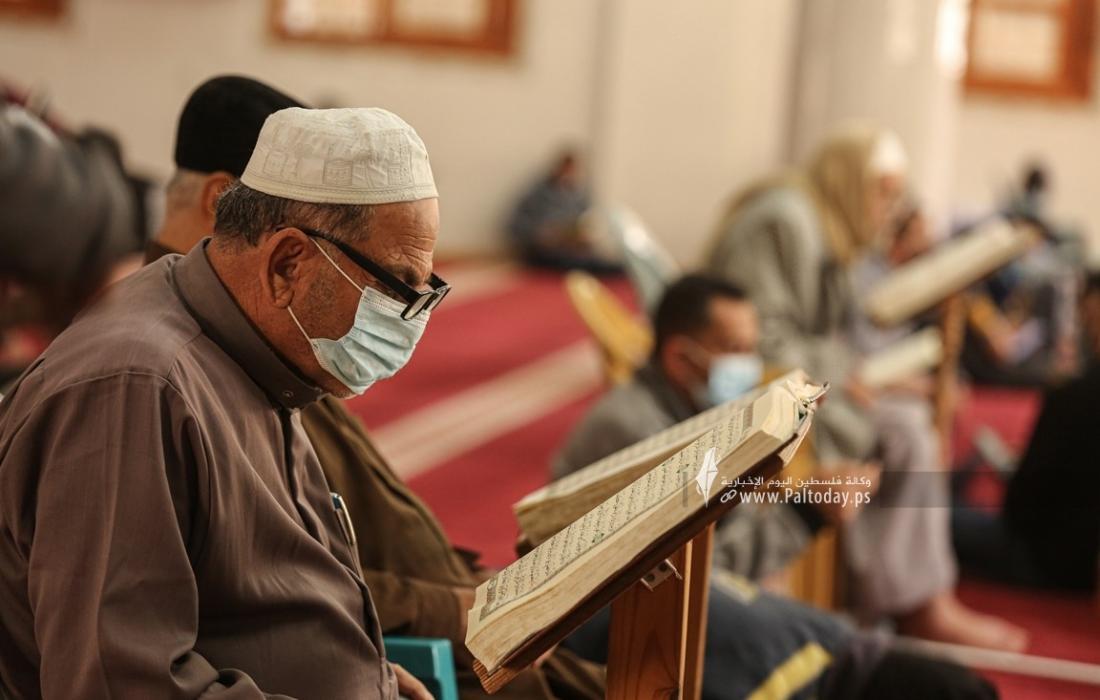 """الأوقاف بغزة تصدر بيانًا بشأن الإجراءات الوقائية ضد """"كورونا"""" في المساجد"""