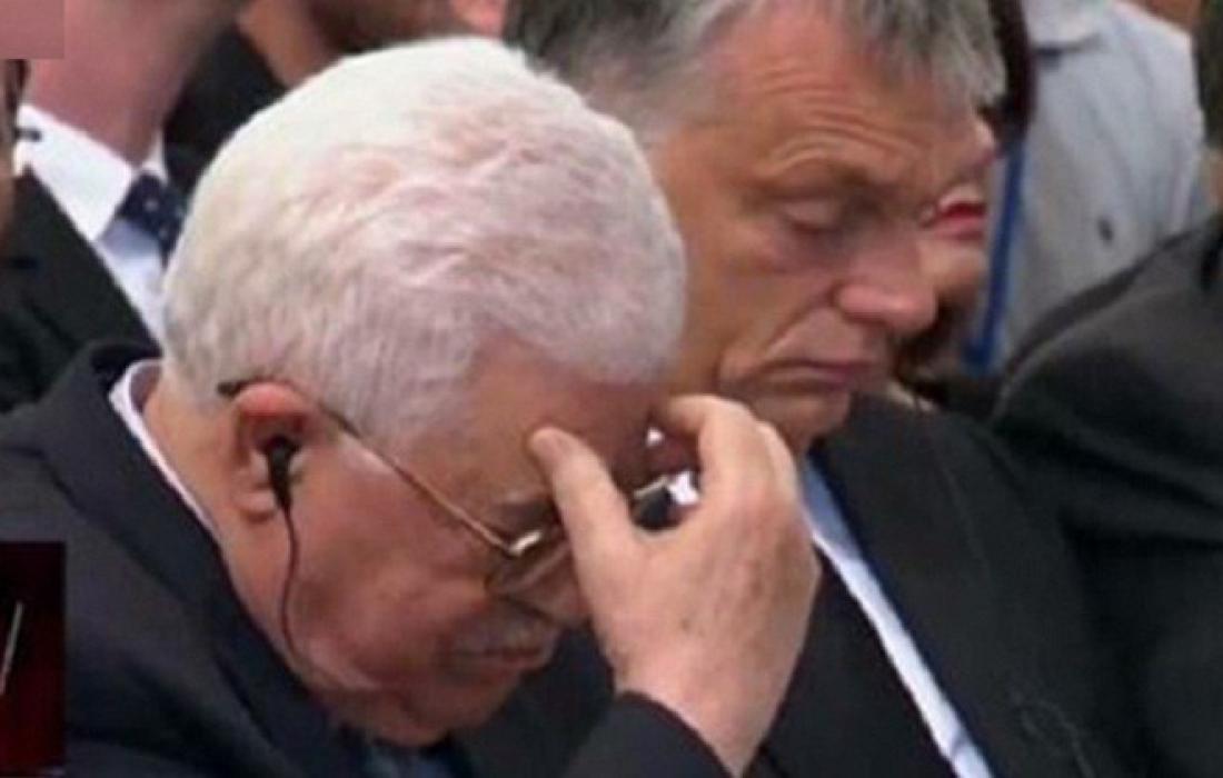تعزية محمود عباس للاسرائيليين بوفاة المتشددين في جسر الجرمق.jpg