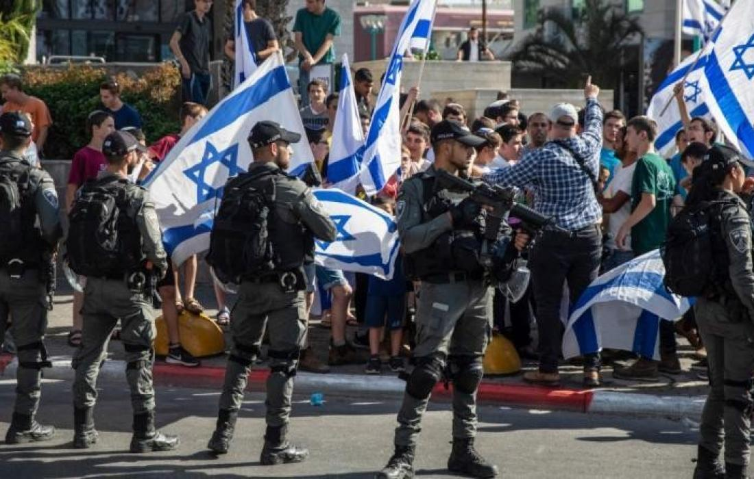 مسيرة الاعلام في القدس.