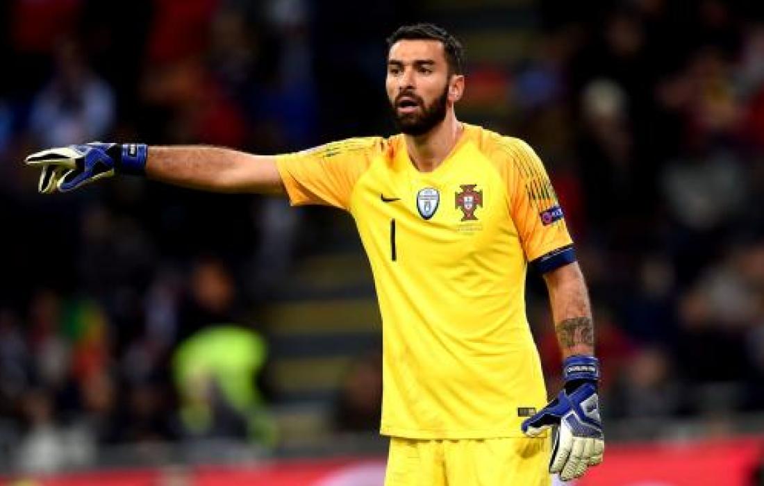 روما يتعاقد مع حارس مرمى المنتخب البرتغالي