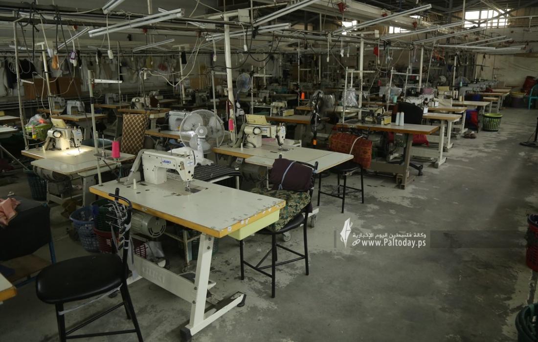 مصنع للخياطة في غزة  (4).JPG