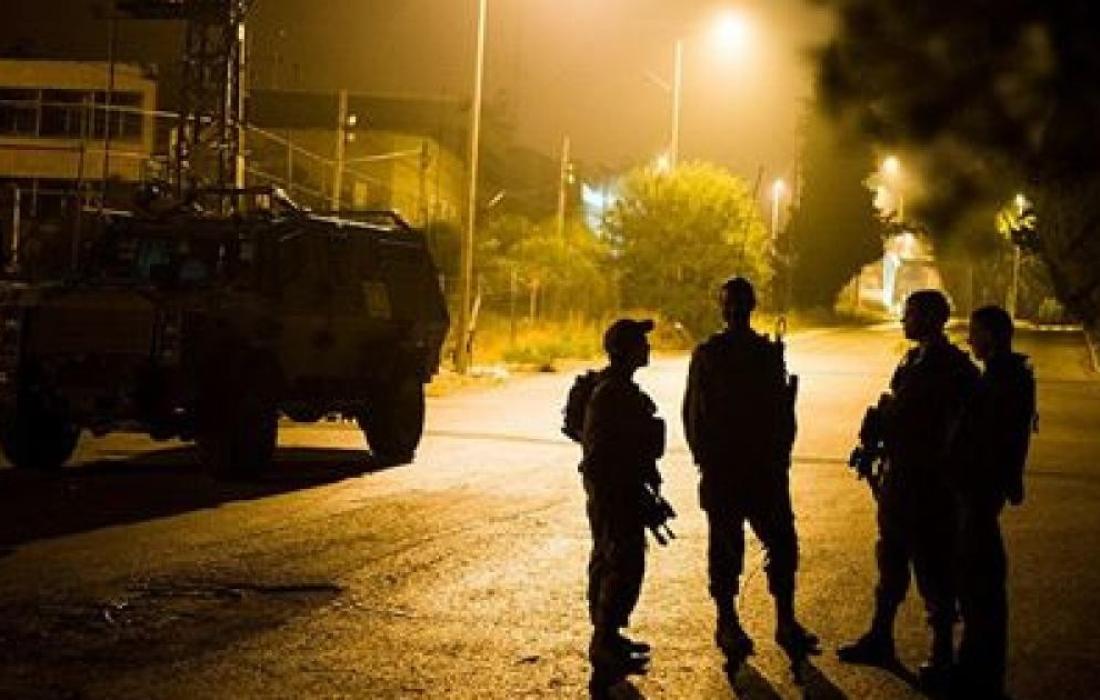 اليات وتعزيزات عسكرية اسرائيلية جيش الاحتلال قرب جنين.jpg