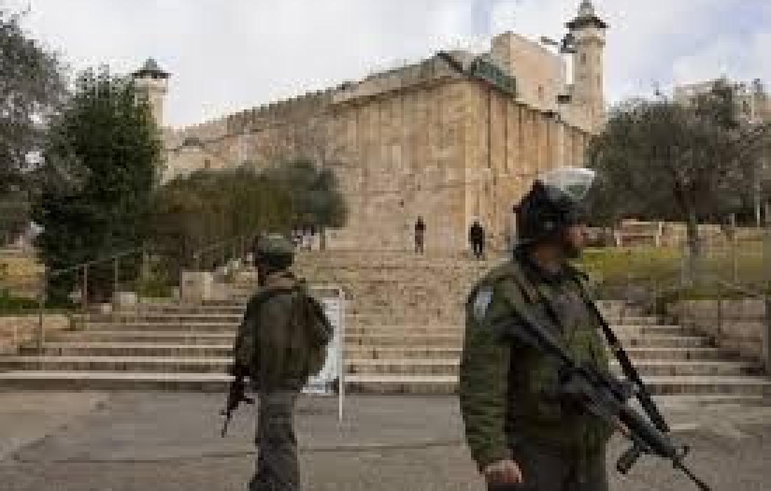 اعتقالات قرب الحرم الابراهيمي