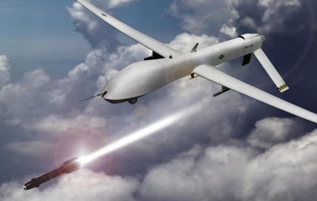 طائرة استطلاع اسرائيلية محملة بالذخيرة