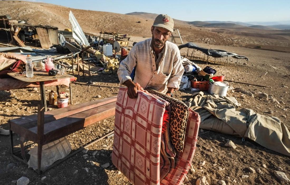 عائلات طردها الاحتلال في القدس