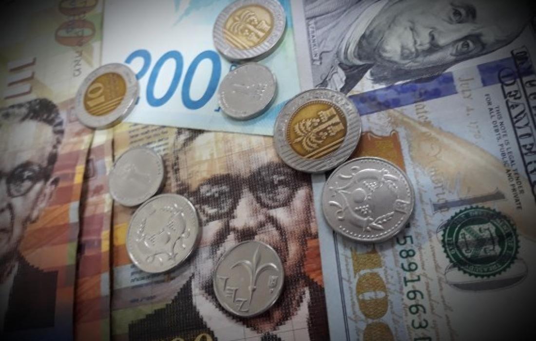 """أسعار العملات مقابل الشيكل """"الإسرائيلي"""" اليوم الاحد 30 مايو 2021"""
