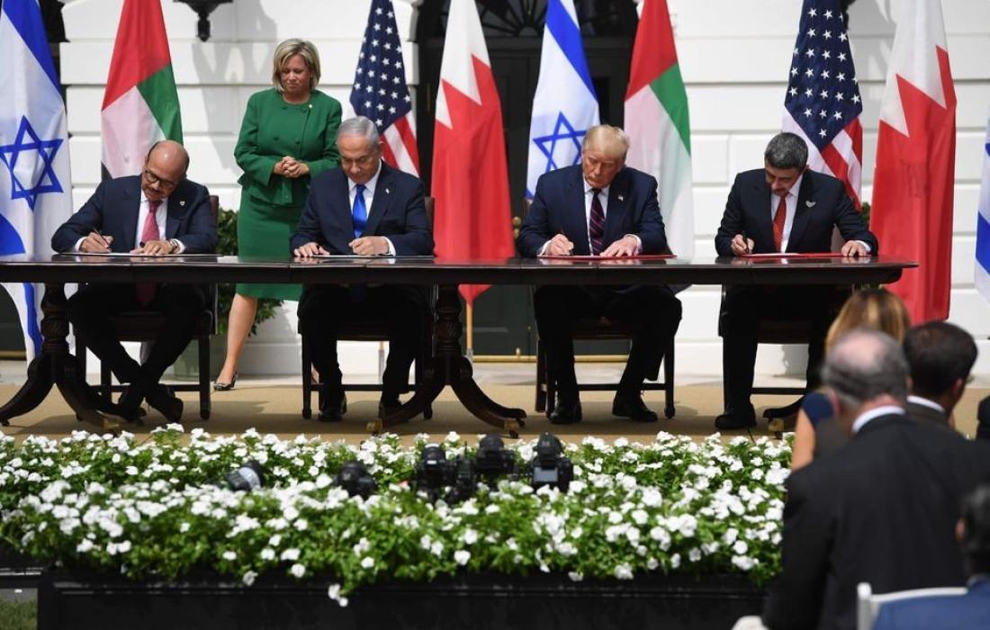 توقيع اتفاق التطبيع3