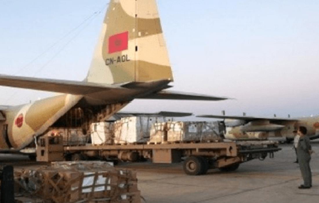 مساعدات مغربية