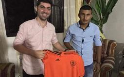 اللاعب خالد أبو مغاصيب