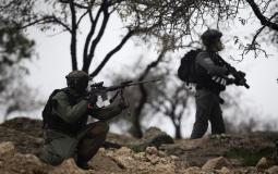 إصابة 3 مواطنين خلال مواجهات مع الاحتلال في قلقيلية