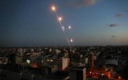 اطلاق صواريخ باتجاه اسدود.jpg