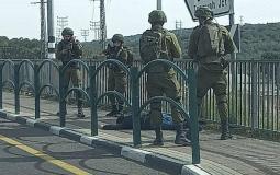 قوات الاحتلال تطلق النار اتجاه شاب بزعم محاولته تنفيذ عملية طعن في بيت لحم