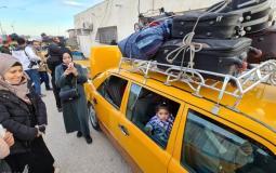 """كشف """"تنسيقات مصرية"""" للسفر عبر معبر رفح يوم الأربعاء (5 مايو)"""