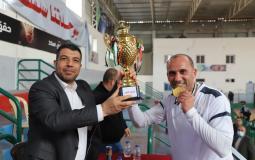 فريق بلدية جباليا يفوز ببطولة كرة القدم الخماسية