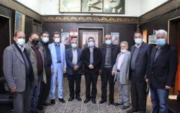 الناصري يبحث المستجدات اللبنانية والفلسطينية مع القوى الفلسطينية في لبنان