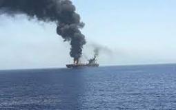 استهداف سفينة اسرائيلية ببحر العرب.jpg