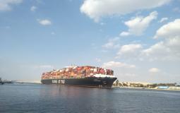 قناة السويس: يتم اكتمال عبور كافة السفن المنتظرة بالمجرى الملاحي