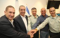 """التنسيق الامني بين السلطة واسرائيل"""" (ارشيف)"""