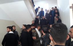 اعتصام طلاب بالجامعة القدس المفتوحة