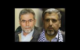 الامين العام القائد زياد النخالة والدكتور رمضان شلح