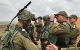 ضباط بجيش الاحتلال