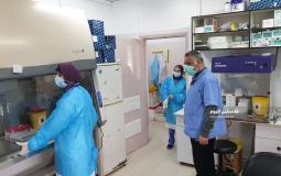 توقف عمل مختبر فحص كورونا (31)