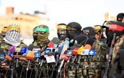 """المقاومة الفلسطينية تؤكد على الوحدة الوطنية والشروع في الانتخابات لمواجهة المؤامرات """"الإسرائيلية"""""""