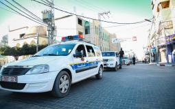 دوريات للشرطة في غزة