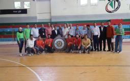 الاتحاد الفلسطيني يُكرم دير البلح بطل كرة اليد للموسم 2020-2021
