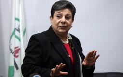 عشرواي تقدم استقالتها للرئيس عباس احتجاجا على عودة السلطة للتنسيق الامني