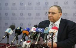 ياسر الشنطي رئيس سلطة المياه في غزة