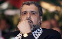 د. رمضان شلح الامين العام لحركة الجهاد الإسلامي