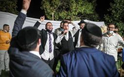 عرس للمستوطنين متدينين يهود