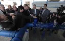 سلطة المياه تبدأ بتنفيذ برنامج محطة التحلية بغزة خلال أشهر
