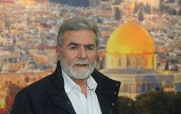 القائد زياد النخالة، الأمين العام لحركة الجهاد الإسلامي في فلسطين