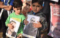 مسيرة دعم واسناد الأسرى المضربين فى سجون الاحتلال (42074633) 