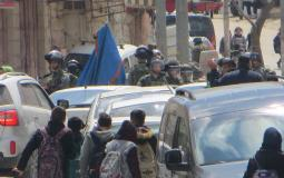 قوات الاحتلال تعتدي على الطلبة