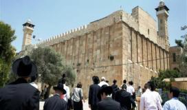 """""""غانتس"""" يوعز بتنفيذ مشروع تهويدي لتغيير مدخل المسجد الإبراهيمي في الخليل"""
