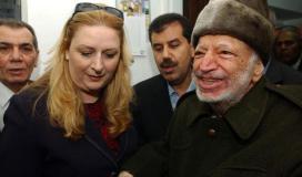 عرفات وزوجته سهى