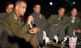 كوخافي يوعز لجيش الاحتلال بالاستعداد لأي سيناريو مع غزة