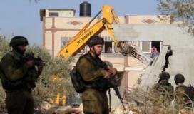 قوات الاحتلال تجبر مواطنًا على هدم منزله في القدس المحتلة