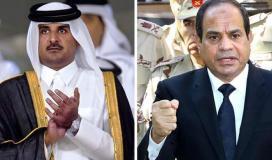 عودة العلاقات بين مصر وقطر.jpg