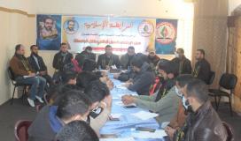 الرابطة الإسلامية تُنظم لقاء لأمراء الجامعات ولجانهم في خانيونس