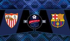 أهداف مباراة برشلونة ضد إشبيلية فى كأس إسبانيا..