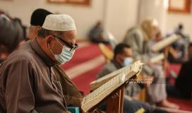 قراءة القرآن الكريم في مساجد غزة خلال شهر رمضان المبارك (2).jpg